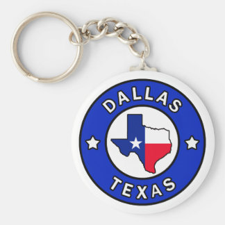 Dallas Texas keychain