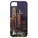 Dallas, Texas night skyline iPhone 5 Cases
