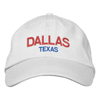 Dallas Texas Personalized Adjustable HatDallas Embroidered Baseball Hat