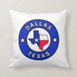 Dallas Texas pillow