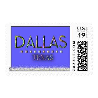 Dallas, Texas Stamp