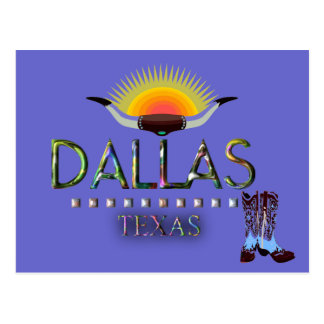 Dallas, Texas Postcard