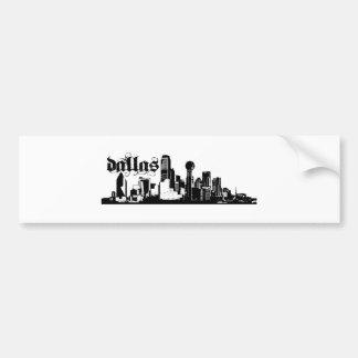Dallas Texas Put on for your city Bumper Sticker