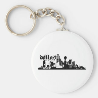 Dallas Texas Put on for your city Keychain