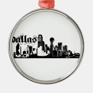 Dallas Texas Put on for your city Metal Ornament