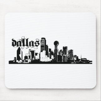 Dallas Texas Put on for your city Mouse Pad