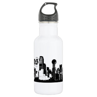 Dallas Texas Put on for your city Water Bottle