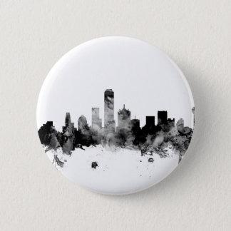 Dallas Texas Skyline Button