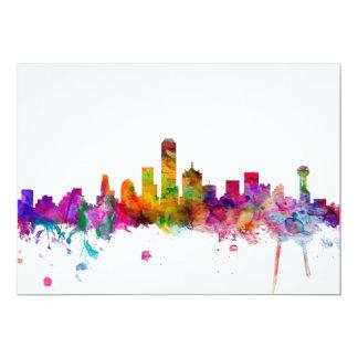Dallas Texas Skyline Card