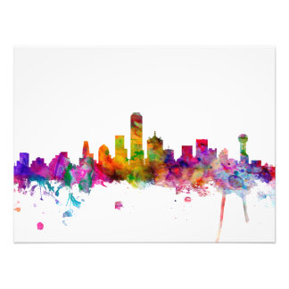 Dallas Texas Skyline Photo Art