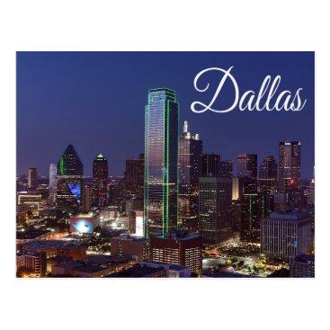 merrydestinations Dallas, Texas Skyline, United States Postcard