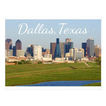 LoveandSerenity Dallas, Texas Skyline, United States Postcard