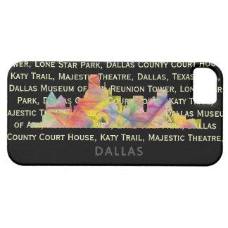 DALLAS, TEXAS SKYLINE WB1 - iPhone SE/5/5s CASE