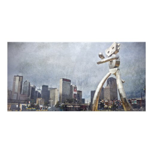 Dallas, Texas Traveling Man Picture Card