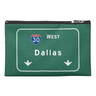 Dallas Texas tx Interstate Highway Freeway Road : Travel Accessory Bag