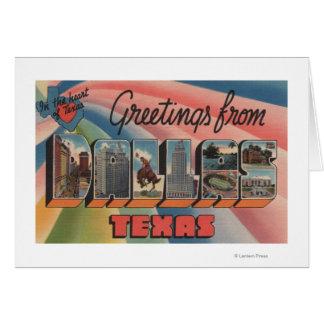 Dallas, TexasLarge Letter ScenesDallas, TX Card