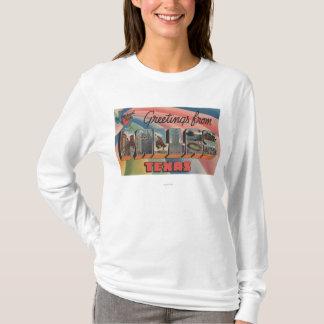Dallas, TexasLarge Letter ScenesDallas, TX T-Shirt