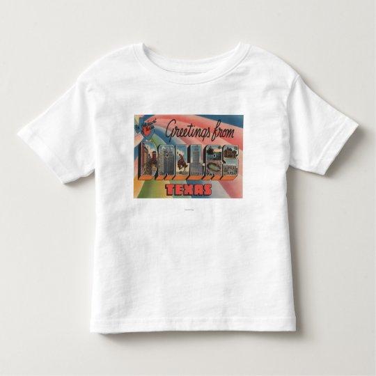 Dallas, TexasLarge Letter ScenesDallas, TX Toddler T-shirt