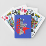 DALLAS Texax Bicycle Playing Cards