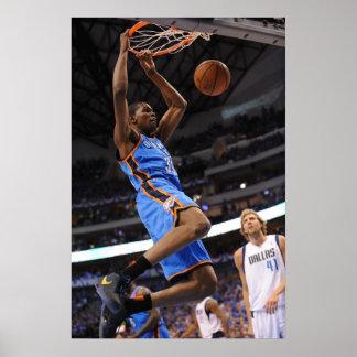 DALLAS, TX - 25 DE MAYO: Kevin Durant #35 del Posters