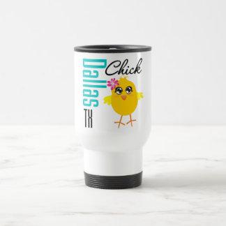 Dallas TX Chick-1 Taza De Café