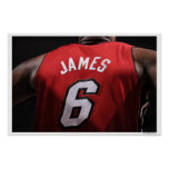 DALLAS, TX - JUNE 7:   Miami Heat small forward Print
