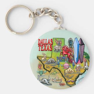 Dallas TX Key Chain