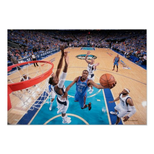DALLAS, TX - MAY 5: Kevin Durant #35 of the 3 Poster