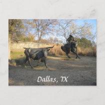 Dallas, TX Postcard
