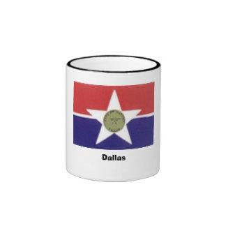 Dallas, TX Ringer Coffee Mug