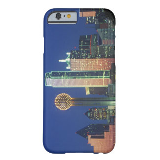 'Dallas, TX skyline at night with Reunion Tower' Barely There iPhone 6 Case
