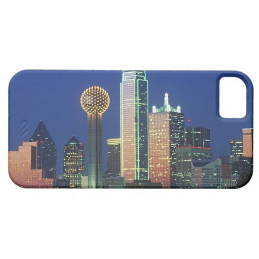 39 dallas tx skyline at night with reunion tower 39 iphone 5 for Case building dallas