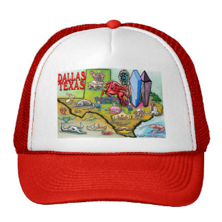 Dallas TX Trucker Hat