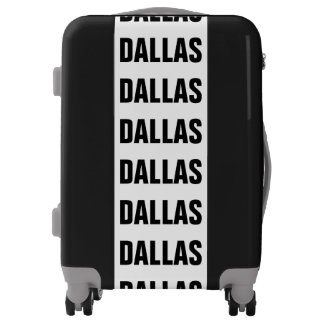 DALLAS, Typo black Luggage