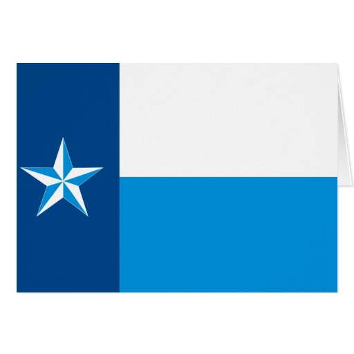 Dallas, United States flag Greeting Card
