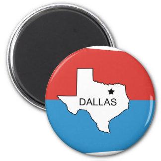Dallas-Viejos, Estados Unidos señalan por medio de Imán Redondo 5 Cm