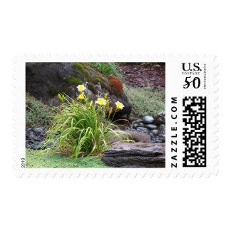Dallies in Garden postage