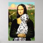 Dalmatian 1 - Mona Lisa Impresiones