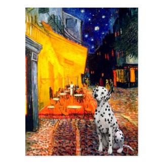 Dalmatian 1 - Terrace Cafe Postcard
