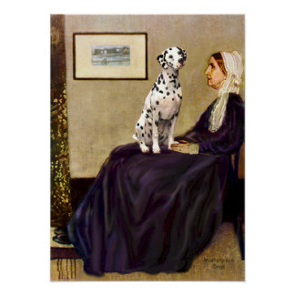 Dalmatian 1 - Whistlers Mother Print