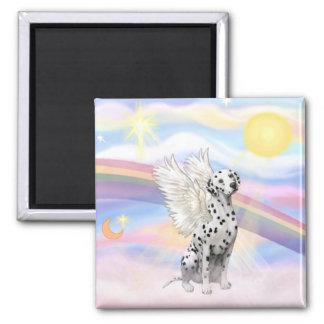 Dalmatian Angel Magnet