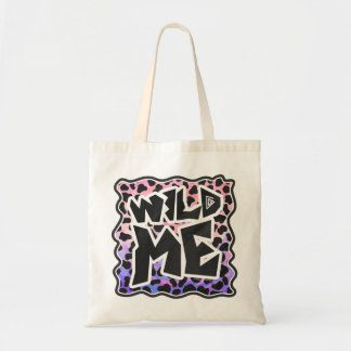 Dalmatian Black and Pink Print Canvas Bags