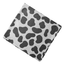 Dalmatian Black and White Print Bandana