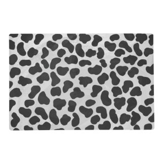 Dalmatian Black and White Print Placemat