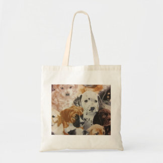 Dalmatian & Boxer Pups Canvas Bag