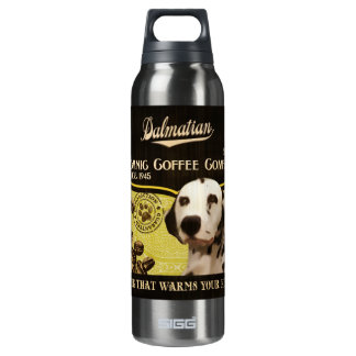 Dalmatian Brand – Organic Coffee Company 16 Oz Insulated SIGG Thermos Water Bottle