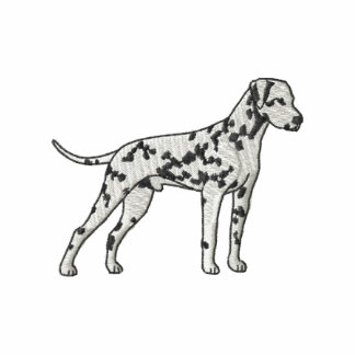 Dalmatian Camiseta Polo Bordada