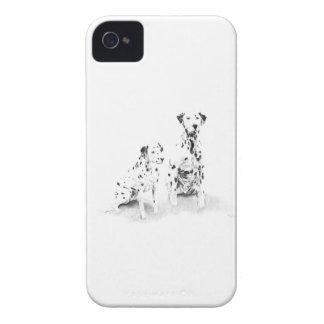 Dalmatian Canine Art Dog Drawing Blackberry Case