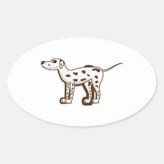 dalmatian-cartoon liver.png oval sticker