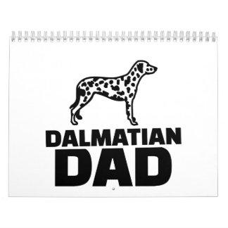 Dalmatian Dad Calendar